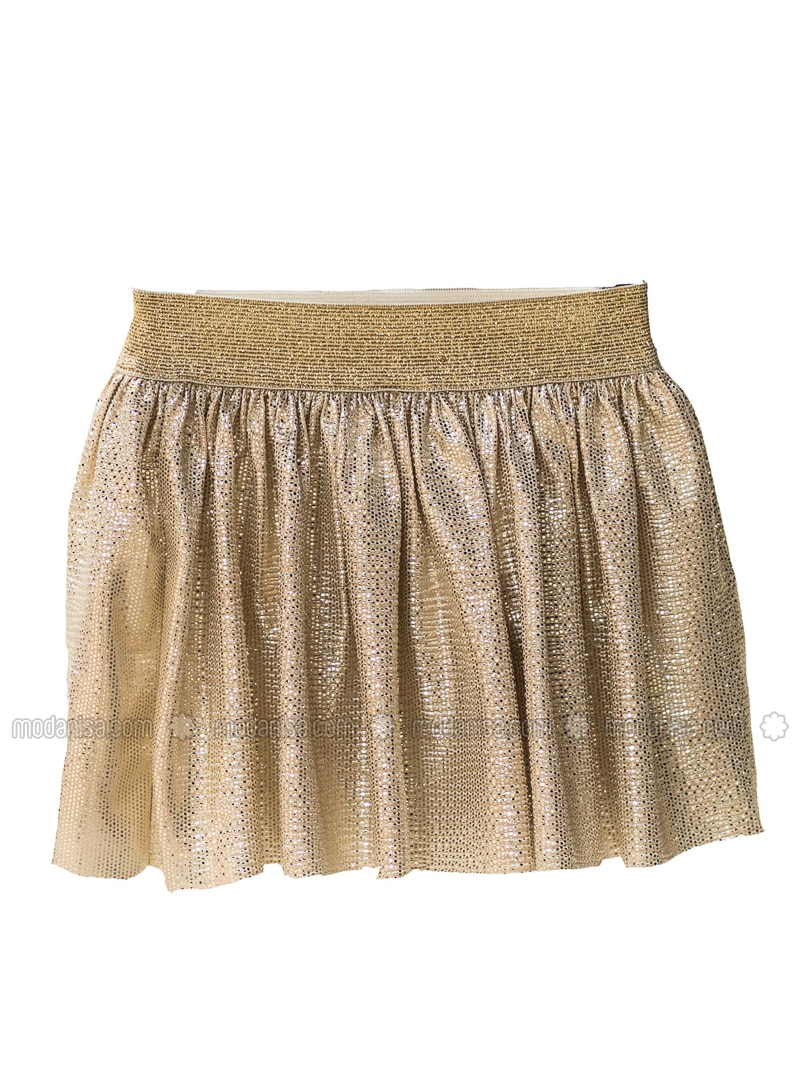 Unlined - Gold - Girls` Skirt
