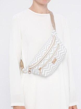 White - Crossbody - Bum Bag