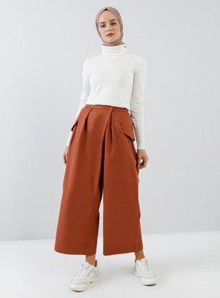 Cinnamon - Cotton - Pants