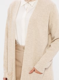 Mink - Unlined - Acrylic -  - Knit Cardigans