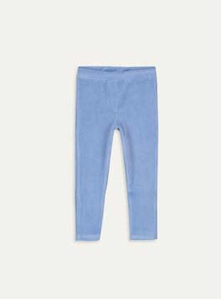 Navy Blue - baby tights - LC WAIKIKI