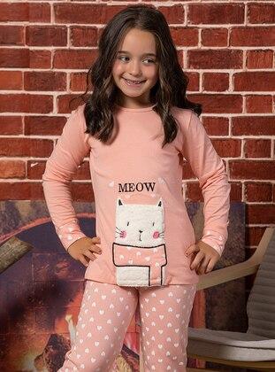 Salmon - Girls` Pyjamas - Elitol Premium