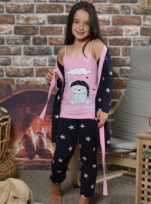 Pink - Girls` Pyjamas - Elitol Premium