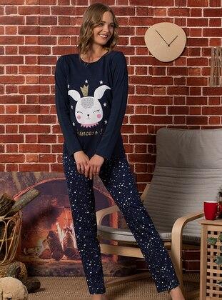 Navy Blue - Pyjama