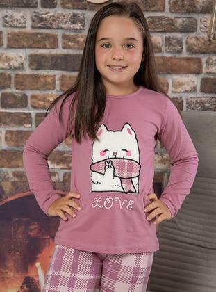 Dusty Rose - Girls` Pyjamas