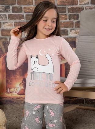 Salmon - Girls` Pyjamas