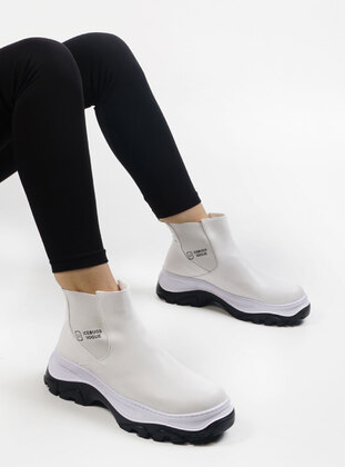 White - Boots