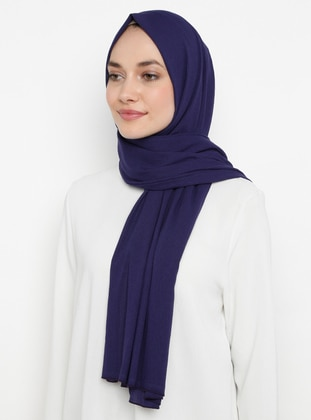 Purple - Plain -  - Shawl