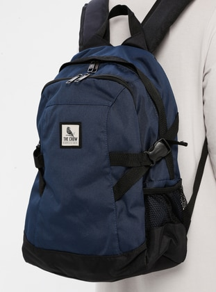 Navy Blue - Backpack - Backpacks