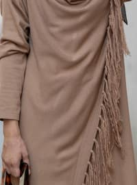 Brown - Unlined - Acrylic - Suit