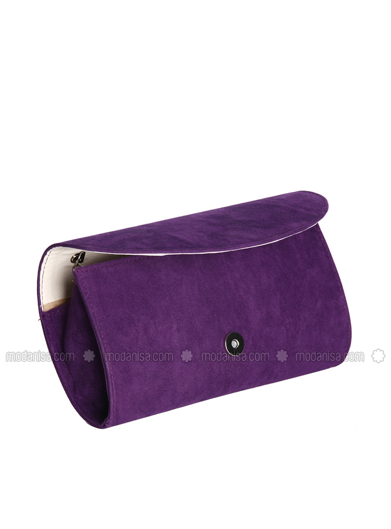Purple Clutch Bags Handbags