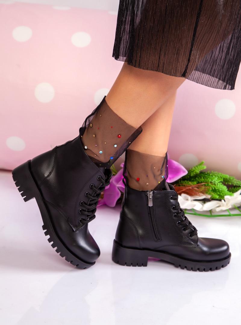 Tesettür Bot Ayakkabı Havuzu Siyah Kadın 37