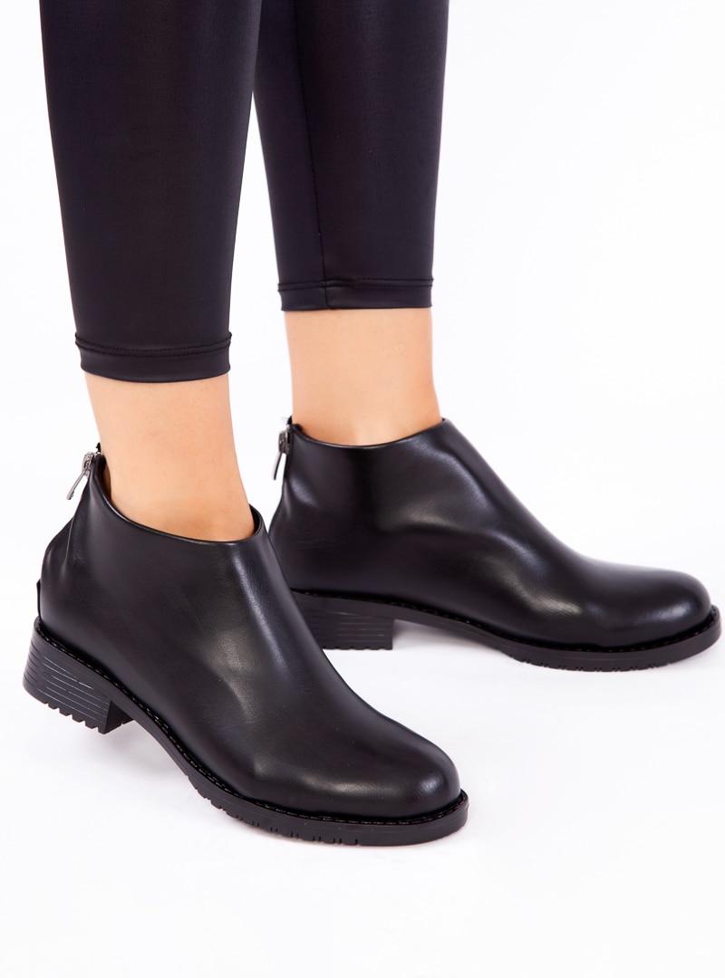 Tesettür Bot Ayakkabı Havuzu Siyah Kadın 39