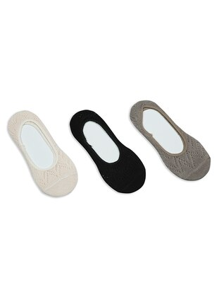 Powder - Black - Mink -  - Socks