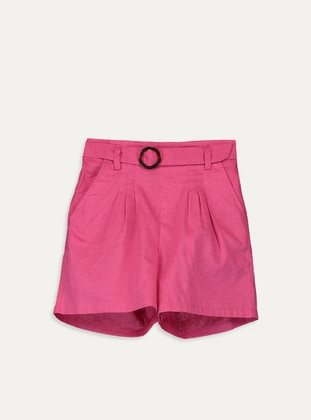 Fuchsia - Girls` Shorts - LC WAIKIKI
