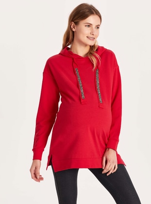 Red - Plus Size Tracksuit