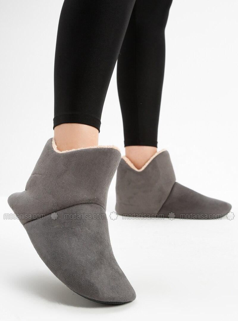 Boot - Smoke - Home Shoes