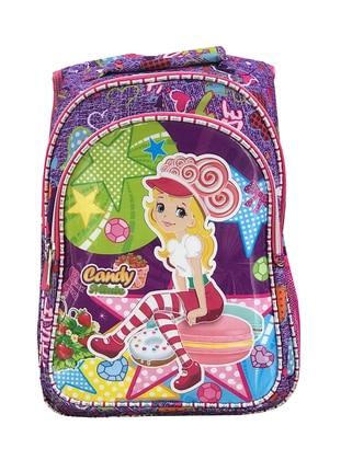 Purple - Backpack - Bag
