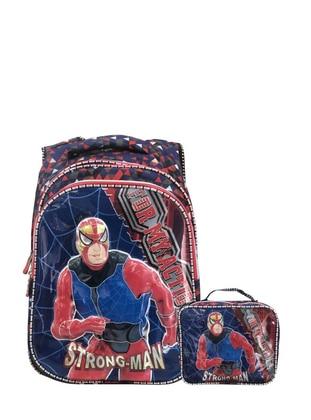Navy Blue - Backpack - Bag