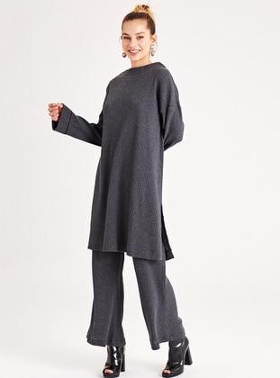 Gray - Unlined -  -  - Suit