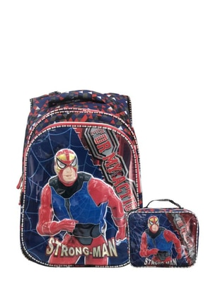 Blue - Backpack - Bag - GNC DESIGN