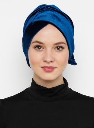 Blue - Petrol - Simple - Bonnet