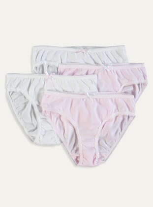 White - Girls` Underwear - LC WAIKIKI