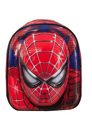 Red - Navy Blue - Backpack - Bag