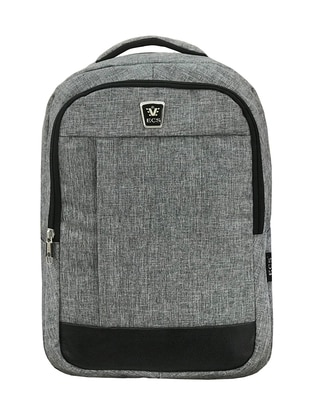 Gray - Backpack - Bag