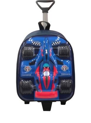 Blue - Backpack - Bag - Fudela