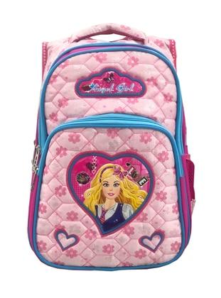 Pink - Backpack - Bag - Fudela