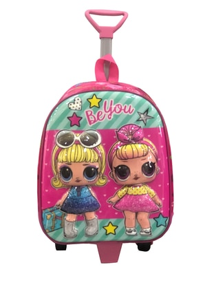 Pink - Backpack - Bag - Fudela