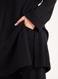 Black - Unlined -  -  - Suit