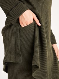 Khaki - Unlined -  -  - Suit