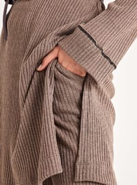 Brown - Unlined -  -  - Suit