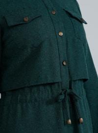 Emerald - Crew neck - Unlined -  - Dress