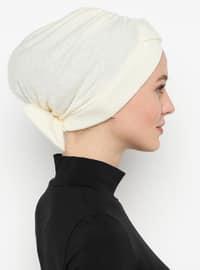 Cream - Simple - Bonnet