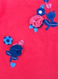 Crew neck -  - Unlined - Pink - Baby Suit