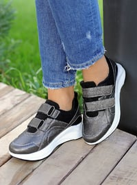 Silver - Sport - Shoes