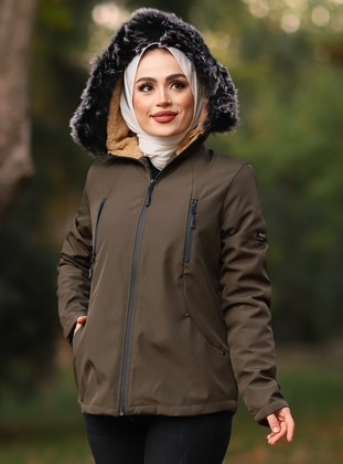 Green - Fully Lined -  - Puffer Jackets