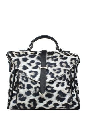 Leopard - Black - Shoulder Bags