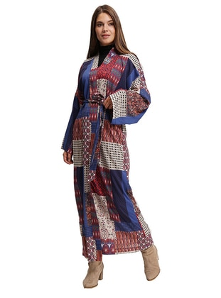 Multi - Multi - Unlined - Abaya