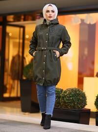 Green - Unlined -  - Coat