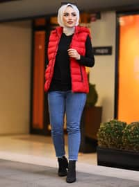 Red - Fully Lined - Vest