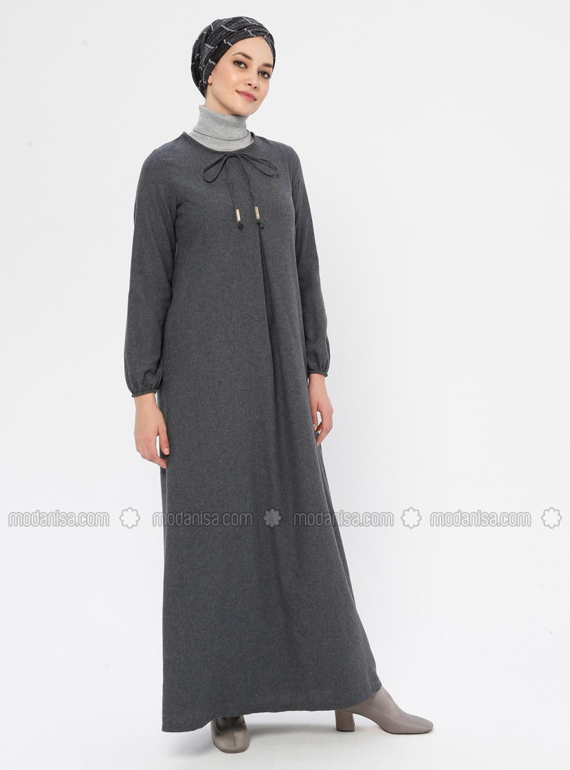 Smoke - Crew neck - Unlined -  - Dress