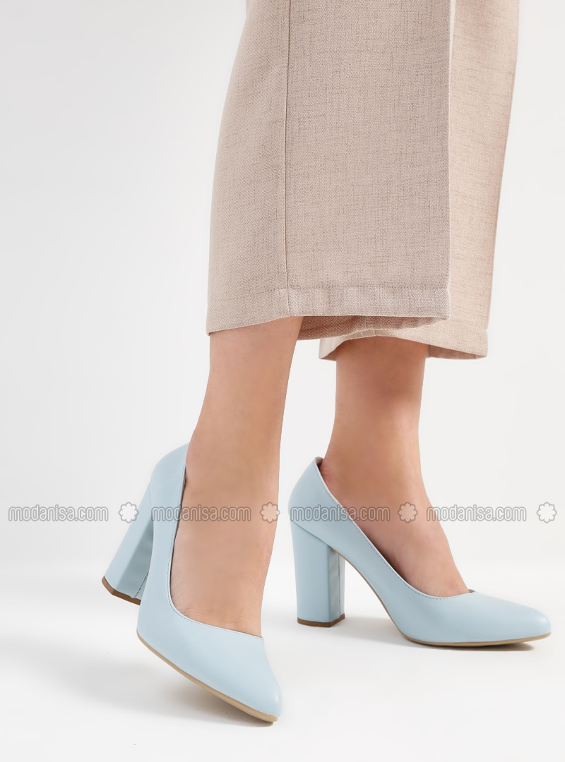 Baby Blue - Blue - High Heel - Heels
