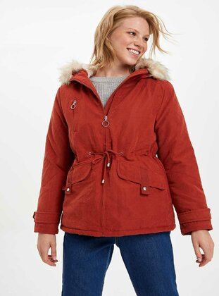 Orange - Coat