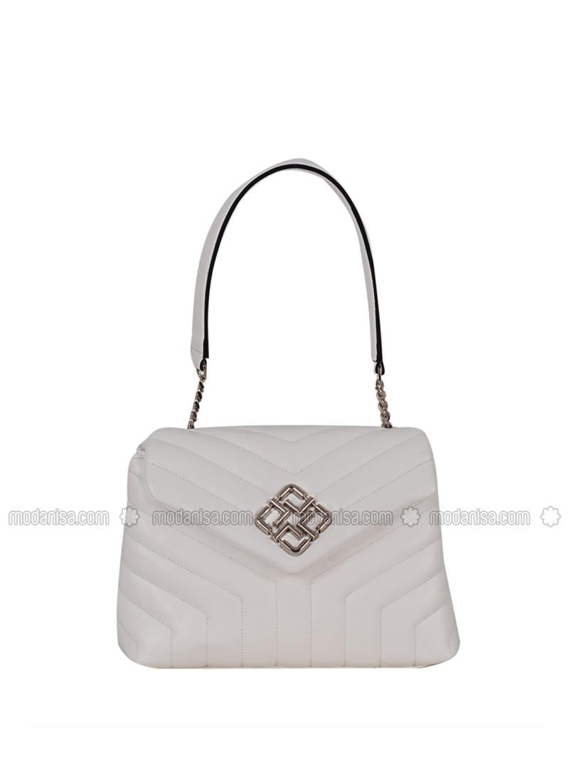 White Clutch Bags Handbags