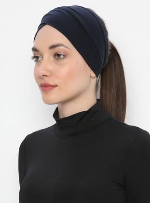 Navy Blue - Plain - Simple - - Bonnet