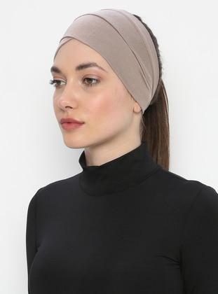 Mink - Plain - Simple -  - Bonnet